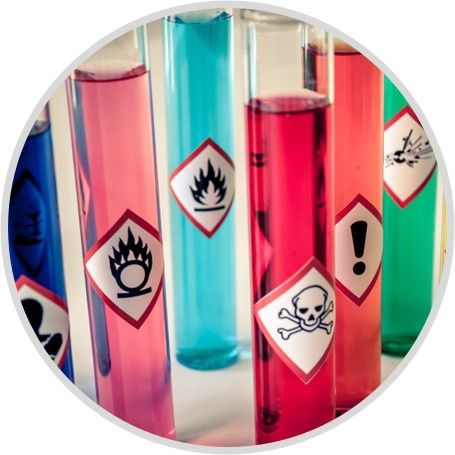 Hazardous substance testing